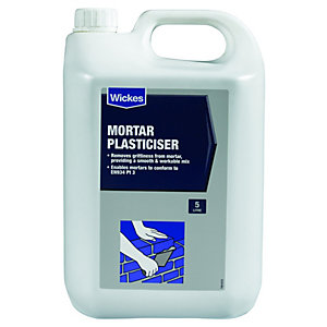 Wickes Mortar Plasticiser - 5L