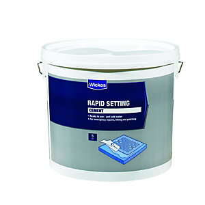 Wickes Rapid Setting Ready Mixed Cement - 5kg