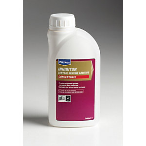 Wickes Concentrate Central Heating System Protector & Inhibitor - 500ml