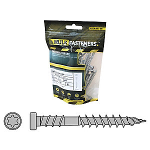 Hulk Composite Decking Screws Apex Arctic Birch Pk30