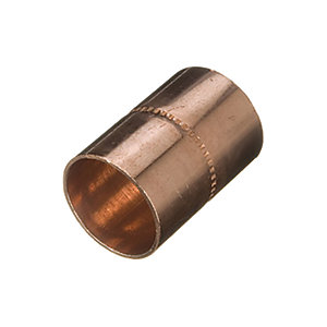Primaflow Copper End Feed Straight Coupling - 28mm Pack Of 2