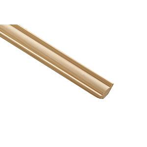 Wickes Pine Coving Moulding - 20mm x 20mm x 2.4m