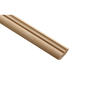 Wickes Pine Crown Moulding - 34mm x 12mm x 2.4m