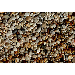 Wickes Apricot Pebbles 8-20mm - Major Bag