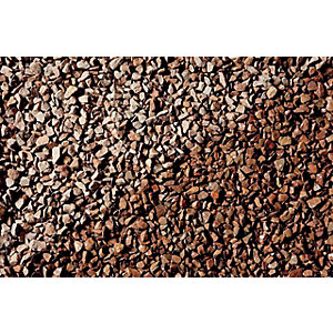 Wickes Cumbrian Red Natural Stone Chippings - Major Bag