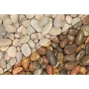 Wickes Decorative Beach Pebbles - Major Bag