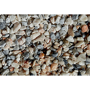 Wickes Flamingo Stone Chippings 14-20mm - Major Bag