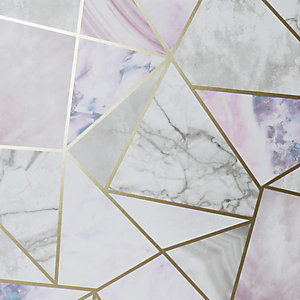 Artistick Geometric Marble Fragments Self Adhesive Wallpaper - 6m x 53cm