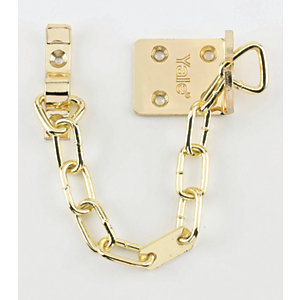 Yale V-WS6-EB High Security Door Chain - Brass