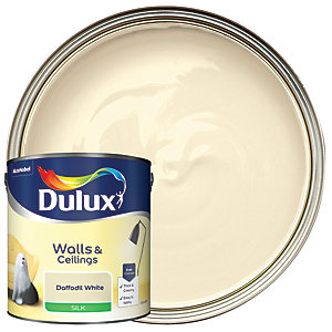 Dulux - Daffodil White - Silk Emulsion Paint 2.5L