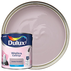 Dulux - Dusted Fondant - Matt Emulsion Paint 2.5L