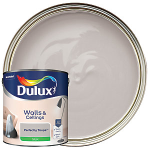 Dulux - Perfectly Taupe - Silk Emulsion Paint 2.5L