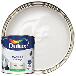 Dulux - White Mist - Silk Emulsion Paint 2.5L