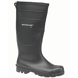 Dunlop Universal PVC Safety Wellington Boot - Black