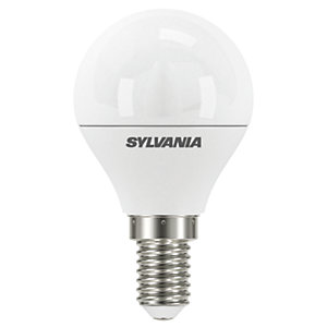 Sylvania LED Dimmable Frosted Mini Globe E14 Light Bulb - 5.6W