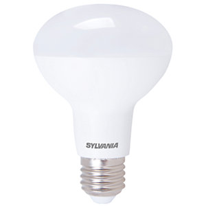 Sylvania LED Non Dimmable Frosted R80 Reflector E27 Light Bulb - 9W