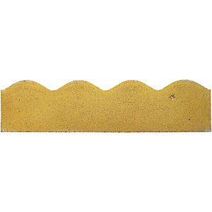 Marshalls Contour Smooth Edging Stone - Buff 600 x 150 x 50mm