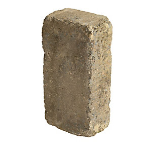Marshalls Drivesett Textured Kerb Stone - Harvest 120 x 240 x 80mm Pack of 192