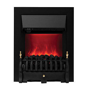 Camberley Electric Inset Fires Black