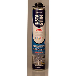 Dow Insta-Stik Expanding Foam Gun-Applied Adhesive - 750ml