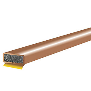 Wickes FD152 Intumescent Fire Seal - Brown 10 x 4 x 2100mm