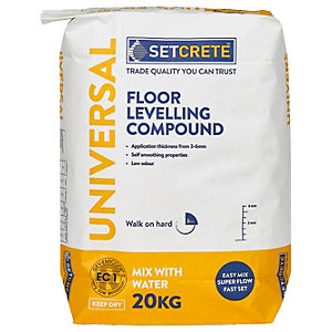 Setcrete Universal Floor Levelling Compound - 20kg