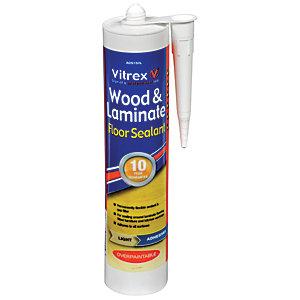Vitrex Flexible Flooring Sealant Light, Flexible Caulk For Laminate Flooring