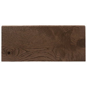 Style Dark Oak Solid Wood Flooring Sample