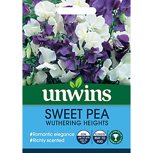 Unwins Wuthering Heights Sweet Pea Seeds