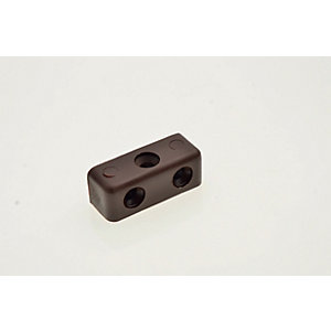 Wickes Brown Plastic Fixit Block - Pack of 24