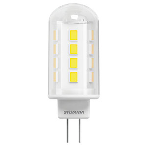 Sylvania LED Non Dimmable Capsule G9 Light Bulbs - 3.8W Pack of 2