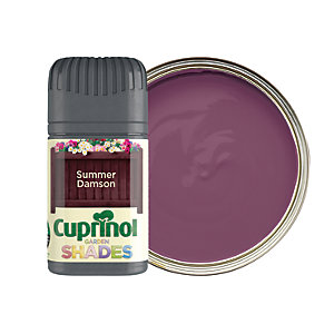 Cuprinol Garden Shades Testers are perfect for choosing a fresh new colour in your garden
