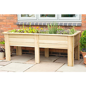 Forest Garden Kitchen Planter - 180 x 60 x 70cm