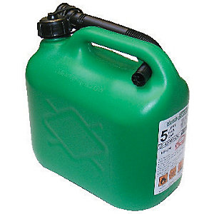 The Handy Green Plastic Fuel Can - 5L