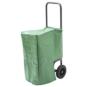 Handy Log Cart with Waterproof Cover