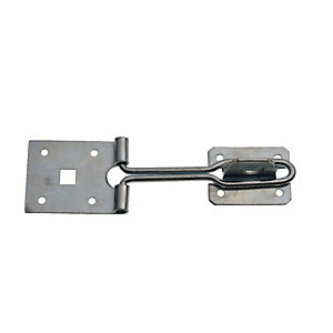 Wickes Wire Hasp and Staple Zinc Plated - 150mm