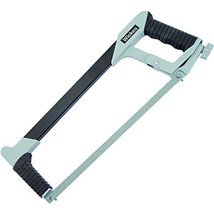 Wickes Heavy Duty Hacksaw Frame & Blade - 12in