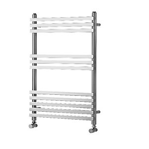 Towelrads Invent Square Chrome Heated Towel Rail Radiator - 1500 x 500 mm