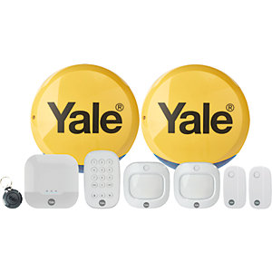 Yale IA-330 Sync Smart Home Security Alarm Family Kit Plus