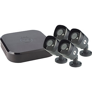 Yale SV-8C-4AB4MX Smart Home Security Wired CCTV Kit X 4 Camera