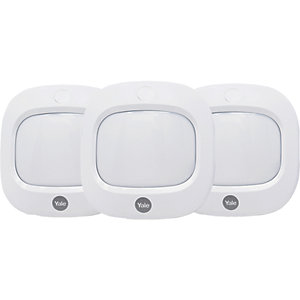 Yale Smart Living AC-3PETPIR Pet Friendly Motion Detector  Set of 3 Pieces