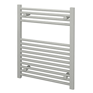Kudox Straight Towel Radiator - White 600 x 750 mm
