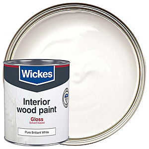 Wickes Non Drip Gloss Pure Brilliant White 750ml