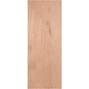 Wickes Lisburn Plywood Flushed 1 Panel Intenal Door - 1981mm x 762mm