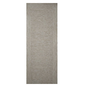 Wickes Milan Light Grey Real Wood Flushed 2 Stile Internal Door - 1981mm x 762mm