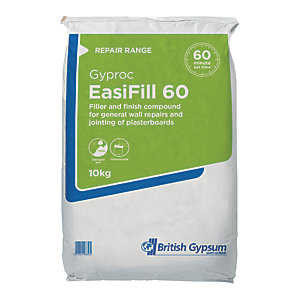 British Gypsum Gyproc Easi Fill 60 Compound - 10kg