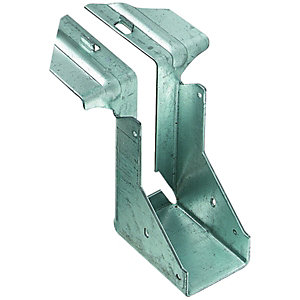 Wickes Galvanised Joist Hanger 50 x 175mm