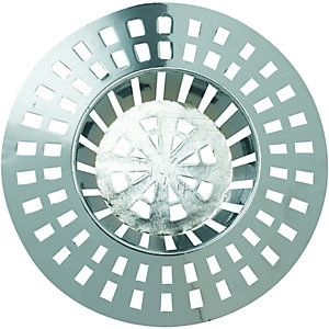 Wickes Chrome Sink & Bath Strainer