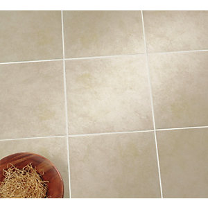 Wickes Urban Beige Ceramic Wall & Floor Tile - 330 x 330mm