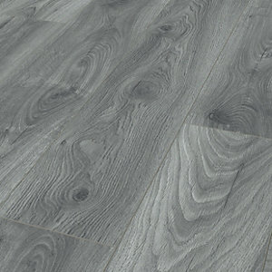 Tomahawk Blue Grey Oak Laminate, Blue Gray Laminate Flooring